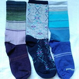 (3) Smartwool Women's Non-Cushion Socks